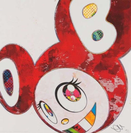 Takashi Murakami-And Then x6 - Vermilion-