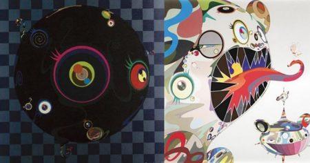Takashi Murakami-Blackbeard, An Homage to Francis Bacon (Study of George Dyer)-2004