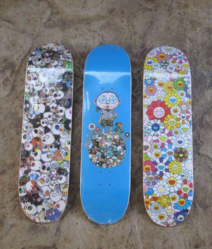 Takashi Murakami-Vans Vault Skate Decks-