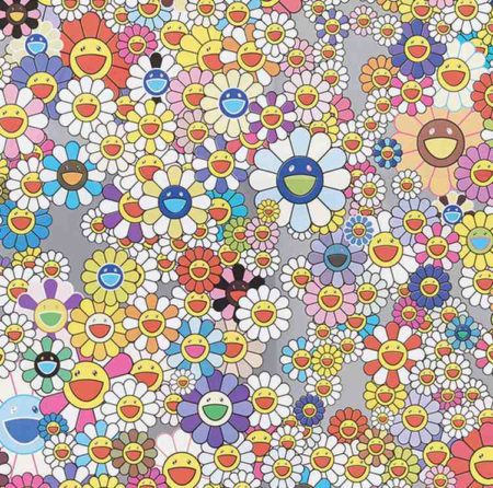 Takashi Murakami-Cosmos Wallpaper-2003