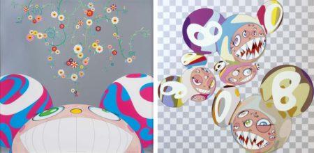 Takashi Murakami-DOB Flower, Para-Kiti DOB-2001
