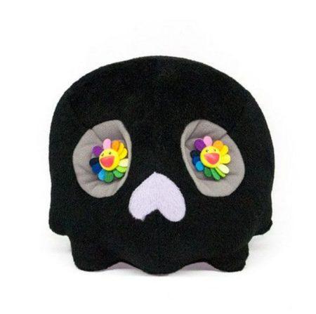 Takashi Murakami-Dokuro Skull Flowers-