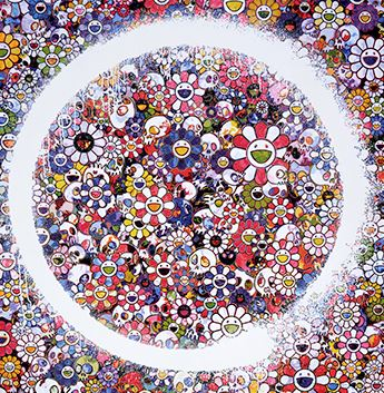 Takashi Murakami-Enso Zen, The Heavens-2016