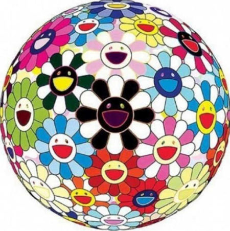Takashi Murakami-FLOWER BALL 3-D BLOOD-2011