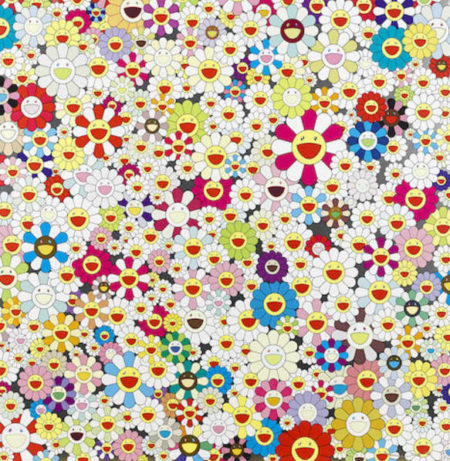 Takashi Murakami-Field of Smiling Flowers-2010