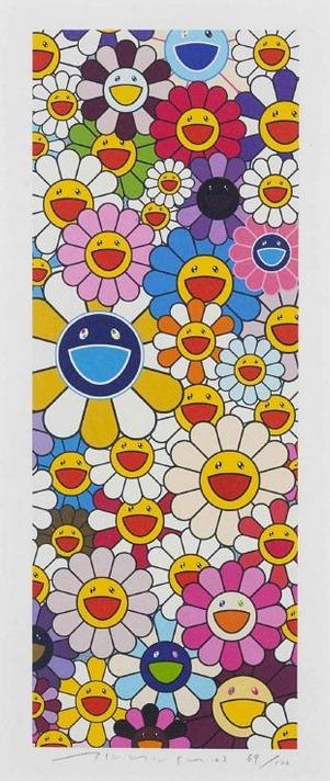 Takashi Murakami-Floflowers-2003