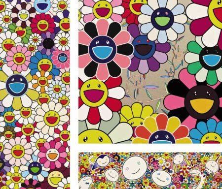Takashi Murakami-Floflowers, Flower, Killer Pink-2003