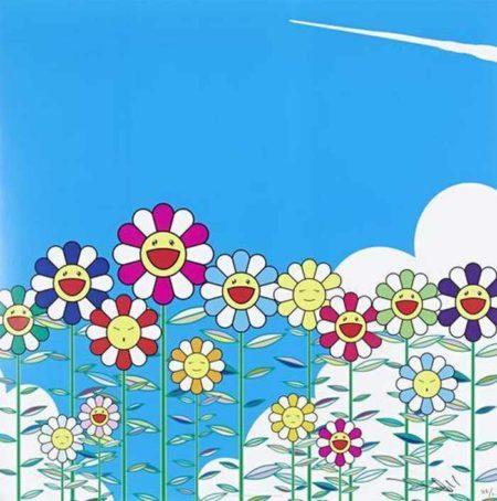 Takashi Murakami-Flower-2002