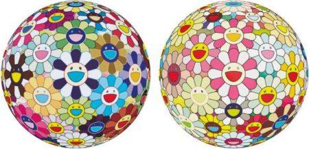Takashi Murakami-Flower Ball (3D) Kindergarten, Flowerball Margaret (3D)-2008