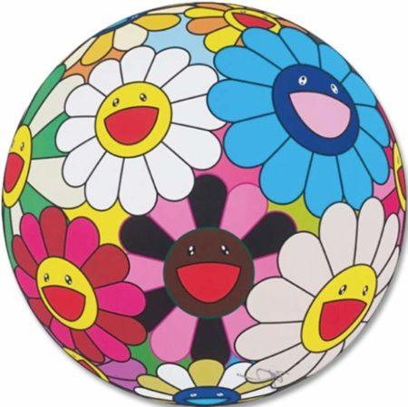 Takashi Murakami-Flower Ball (Algae Ball)-2013