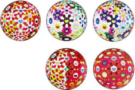 Takashi Murakami-Flower Ball Series-