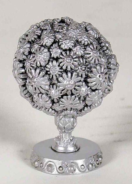 Takashi Murakami-Flower Ball - Silver-2003