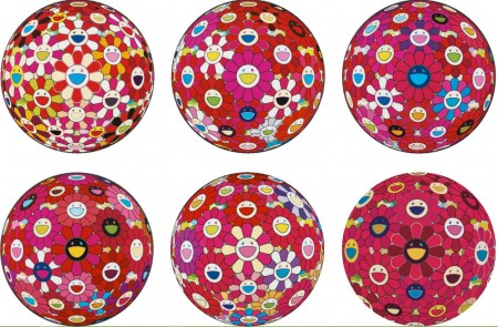 Takashi Murakami-Flower Ball and Other-2014