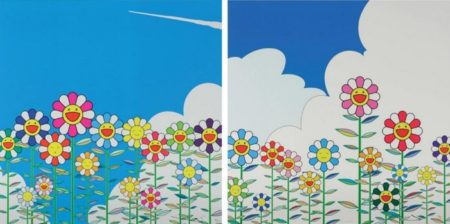 Takashi Murakami-Flower, Flower 2-2002