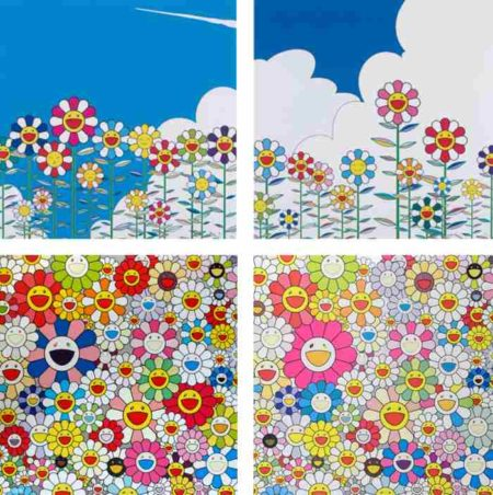 Takashi Murakami-Flower, Flower 2, Such Cute Flowers, Flowers From the Village of Ponkotan-2011