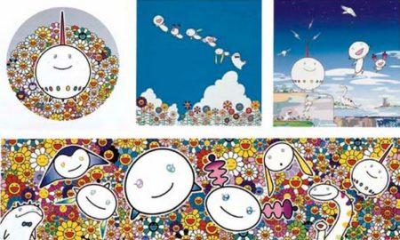 Takashi Murakami-Flower Pi-Chan, Flower, 66 Aliens, Planett 66, Summer Vacation of 66 Aliens-2004
