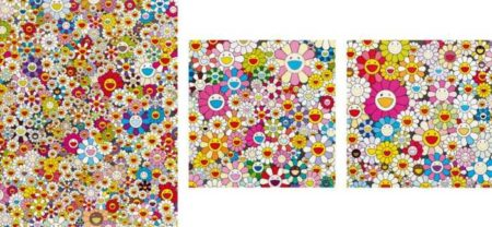 Takashi Murakami-Flower Smile, Flowers from the Village of Ponkotan, Poporoke Forest-2011
