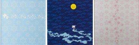 Takashi Murakami-Flower, Snow, Moon-2001