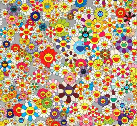 Takashi Murakami-Flower (Superflat)-2004