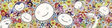 Takashi Murakami-Flower: The Creatures from Planet 66-2004