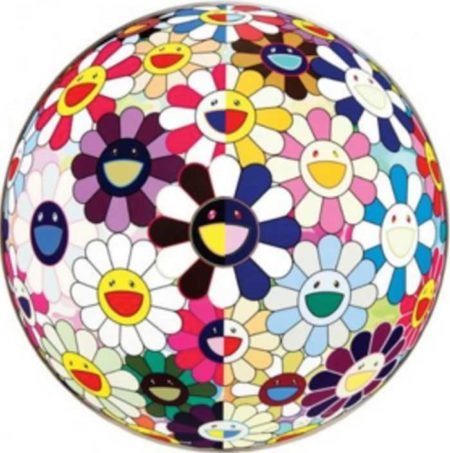 Takashi Murakami-Flowerball (3D) From the Realm of the Dead-2010