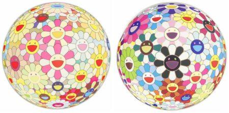 Takashi Murakami-Flowerball 3D Margaret, Flowerball 3D Blood V-2008