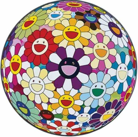 Takashi Murakami-Flowerball Sexual Violet No.1 (3D)-2013