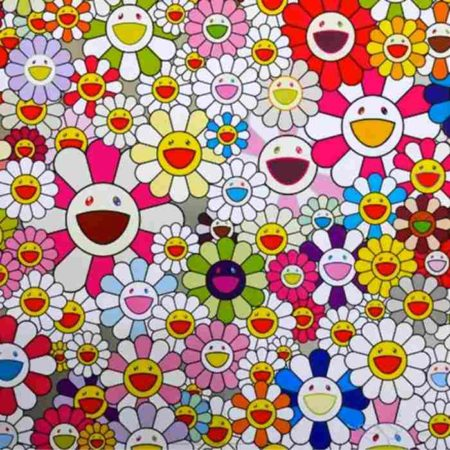 Takashi Murakami-Flowers Blooming in This World and the Land of Nirvana-2013