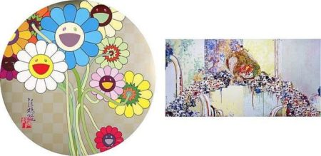 Takashi Murakami-Flowers for Algernon, A Picture of the Blessed Lion Who Stares at Death-2010