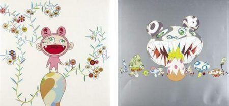 Takashi Murakami-Here comes Media, Kiki with Moss-2004