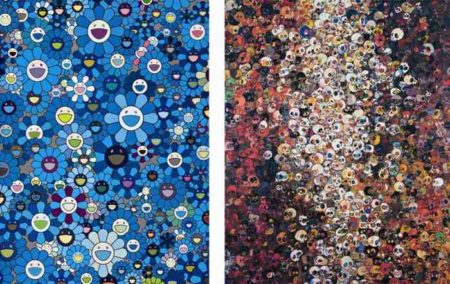 Takashi Murakami-I Know Not. I Know, An Homage to IKB,1957-
