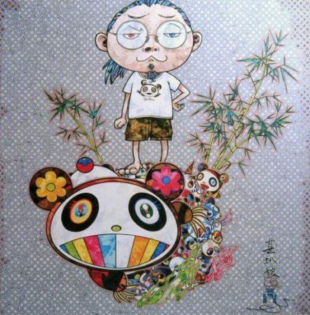 Takashi Murakami-I Met a Panda Family-2013