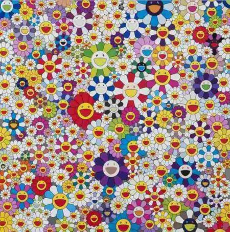 Takashi Murakami-If I Could Reach That Field Of Flowers, I Would Die Happy-2010