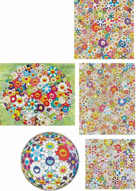 Takashi Murakami-If I Could Reach..., Open Your Hands Wide, Poporoke Forest, Flower Ball (3D) Sequoia sempervirens, Flowers Blooming in This World and the Land of Nirvana-2010