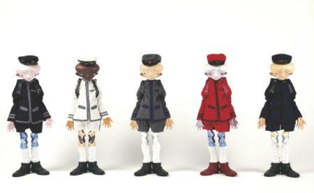 Takashi Murakami-Inochi Dolls : Bob, Yamamoto, David, Zhang, Victor-2009