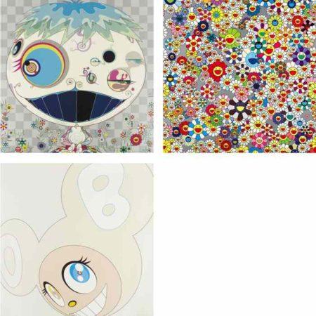 Takashi Murakami-Jelly Fish, Flower, White DOB-2003