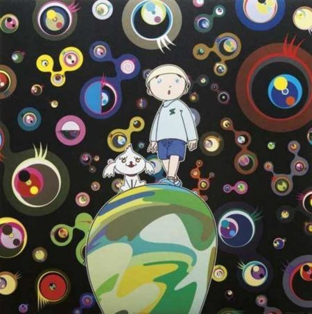 Takashi Murakami-Jellyfish Eyes-Max & Shimon in the Strange Forest-2004