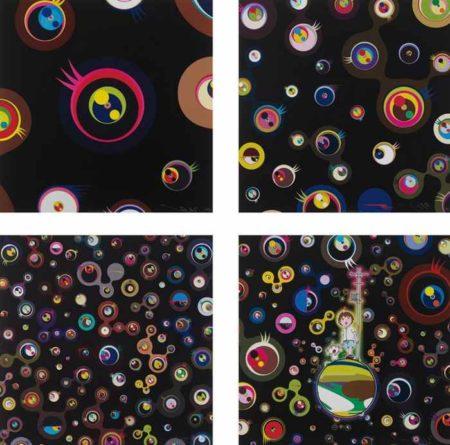 Jellyfish Eyes - Black 1, Jellyfish Eyes-Black 3, Jellyfish Eyes-Black 5, Jellyfish Eyes-2012
