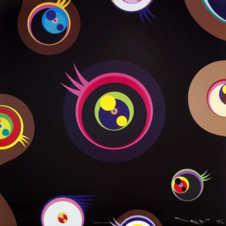 Takashi Murakami-Jellyfish Eyes - Black 1-2002