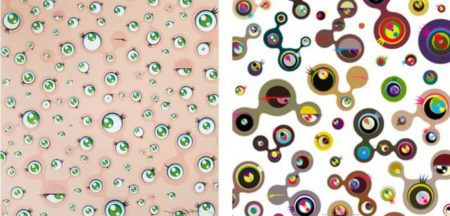 Takashi Murakami-Jellyfish Eyes, Jellyfish Eyes White 4-2011