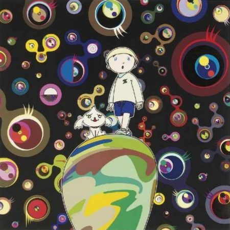 Takashi Murakami-Jellyfish Eyes -Max and Shimon in a Strange Forest-2006