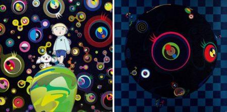 Takashi Murakami-Jellyfish Eyes-Max and Simon in the Strange Forest, Blackeard-2005