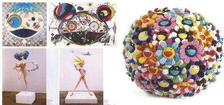 Takashi Murakami-Jellyfish, My Lonesome Cowboy, Tan Tan Bo, Hiropon, Plush Flowerball-2004