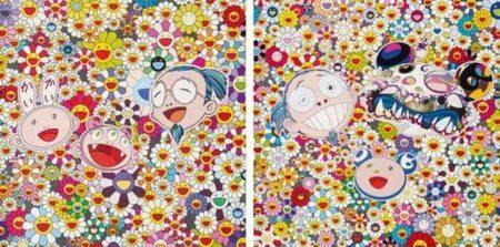 Takashi Murakami-Kaikai Kiki And Me, Me And Double-DOB-2009