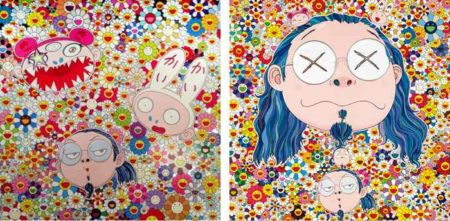 Takashi Murakami-Kaikai Kiki And Me-The Shocking Truth Revealed, Self Portrait of the Distressed Artist-2009