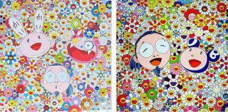 Takashi Murakami-Kaikai Kiki and Me-For Better Or Worse In Good Times And Bad The Weather is Fine, Me and Mr. DOB-2010