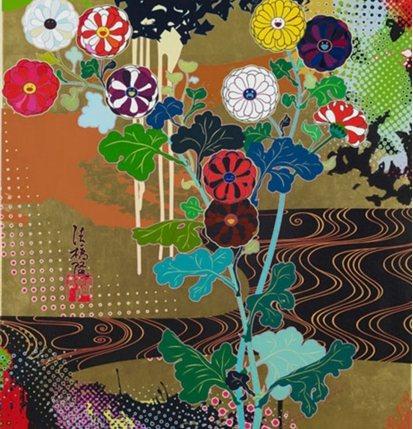 Takashi Murakami-Kansei Gold-2009
