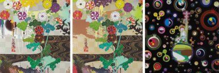 Takashi Murakami-Kansei Gold, Kansei Platinum, Jellyfish Eyes-2013