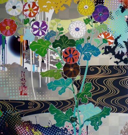 Takashi Murakami-Kansei Platinum-2009