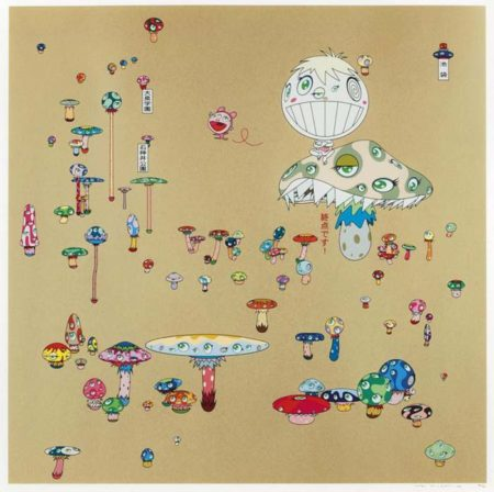 Takashi Murakami-Making a U-Turn the Lost Child Find his Way Home-2004